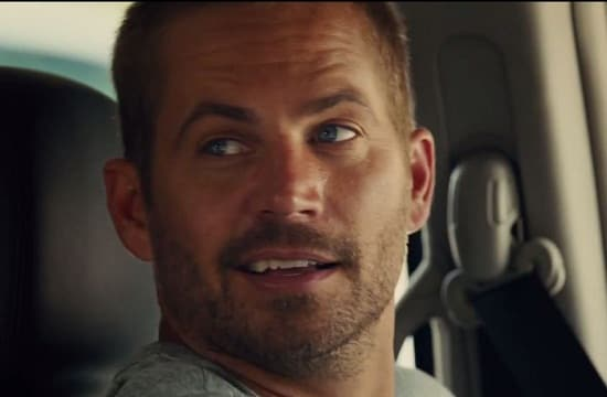 Paul Walker Furious 7 Photo