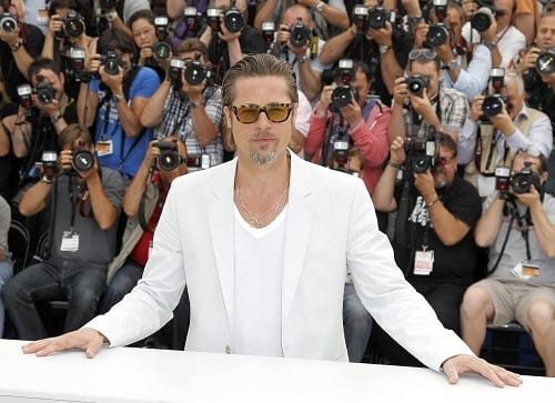 Brad Pitt in Cannes Photo