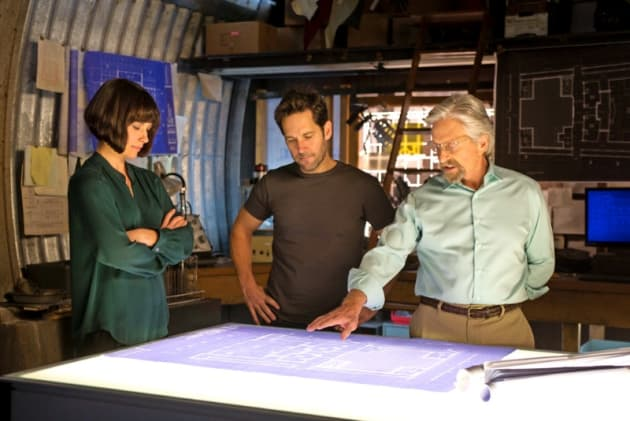 Ant-Man Paul Rudd Michael Douglas Evangeline Lilly