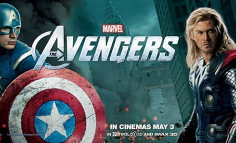 The Avengers: International Banners of Superheroes United