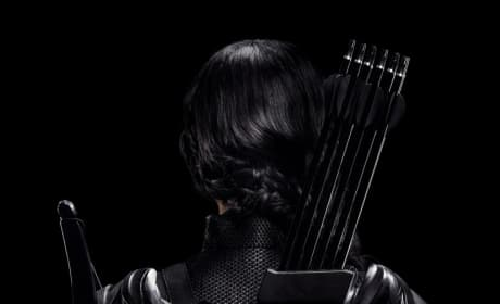 Mockingjay Part 1 Katniss Rebels Character Poster