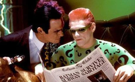 Two-Face and The Riddler