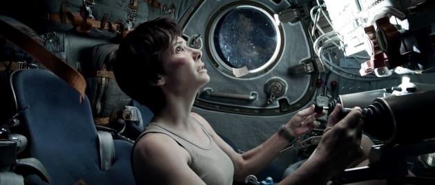 Sandra Bullock in Gravity
