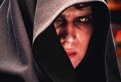 Anakin Skywalker Goes Dark Side