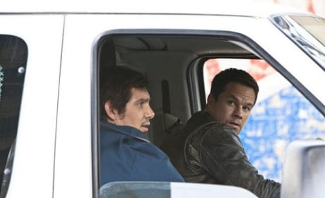 Mark Wahlberg and Lucas Haas in Contraband