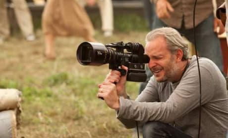 Francis Lawrence on the set of Water for Elephants