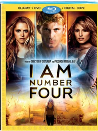 I Am Number Four Blu-Ray Cover