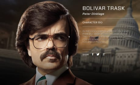 X-Men Days of Future Past Bolivar Trask Bio Banner