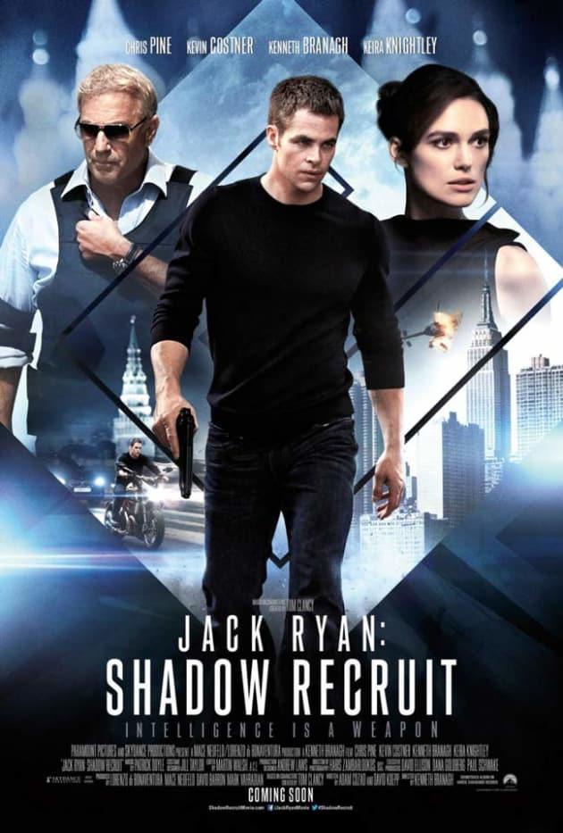 Jack Ryan Shadow Recruit UK Poster