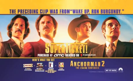 Anchorman Exclusive Clip: Wake Up Ron Burgundy Teases Supertickets for Anchorman 2!