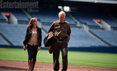 Trouble With the Curve First Images: Clint Eastwood as a Baseball Scout