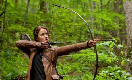 Bow Before Katniss: New Jennifer Lawrence Image from The Hunger Games