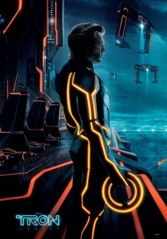 Tron Legacy Clu Poster