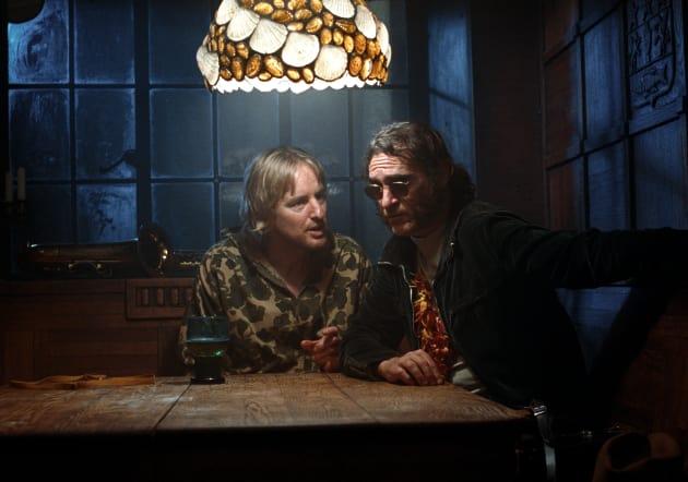 Owen Wilson & Joaquin Phoenix Talk It Out