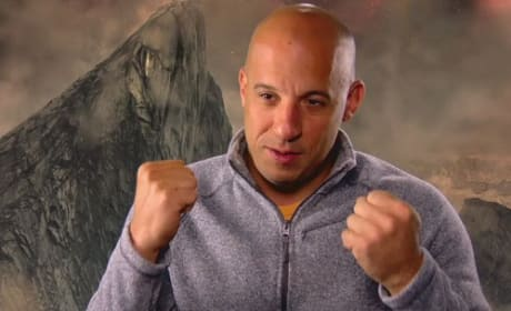 Vin Diesel Riddick Interview Photo