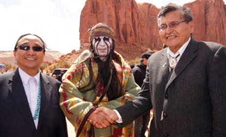 The Lone Ranger Photos: Johnny Depp Embraces Navajo Nation
