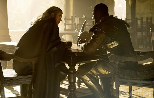 Thor: The Dark World Idris Elba Chris Hemsworth