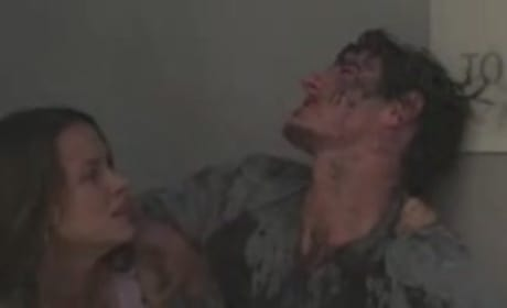 Eric Balfour and Scottie Thompson Dodge Aliens and Crashing Jets in New Skyline Clip!