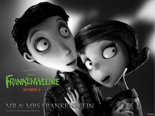 Mr. and Mrs. Frankenstein Frankenweenie Wallpaper