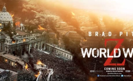 World War Z Posters: The World is Ablaze