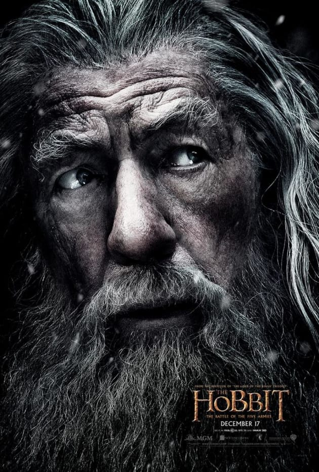 The Hobbit The Battle of the Five Armies Gandalf Poster