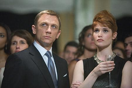 James Bond and Agent Fields