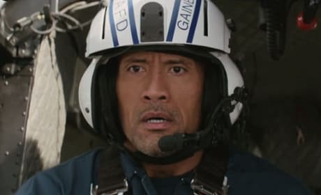 San Andreas Stars Dwayne Johnson