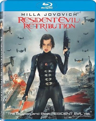 Resident Evil Retribution Blu-Ray