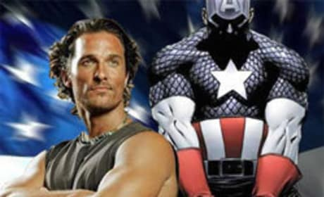 Matthew McConaughey Rumored to Suit Up as Captain America