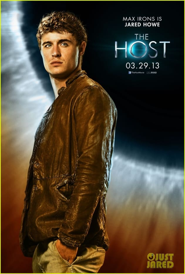 The Host Max Irons Poster