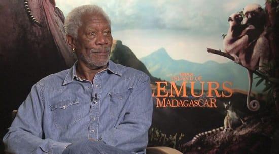Morgan Freeman Interview Picture