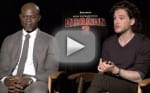 How to Train Your Dragon 2 Exclusive: Kit Harrington & Djimon Hounsou Interview