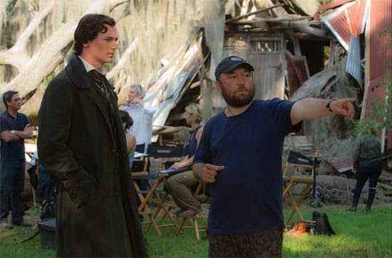 Timur Bekmambetov and Benjamin Walker on Abraham Lincoln: Vampire Hunter Set