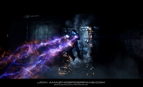 The Amazing Spider-Man 2 Photo: Amazing Electro!