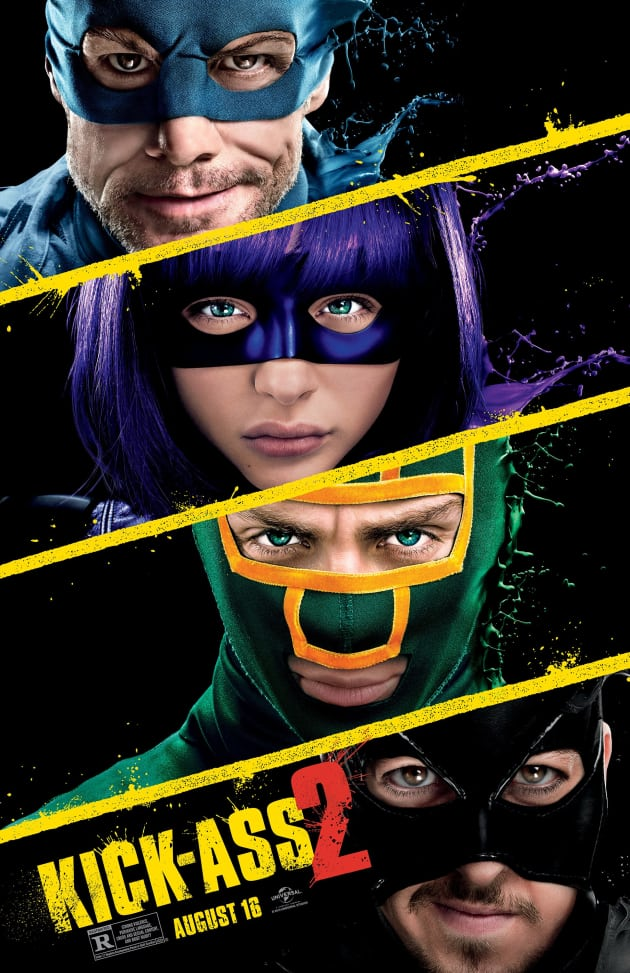 Kick-Ass 2 Character Movie Poster