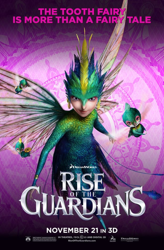 Rise of the Guardians Tooth Fairy Poster