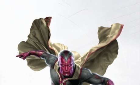 Avengers Age of Ultron: First Look at The Vision!