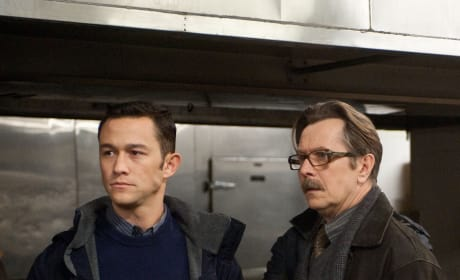 John Blake and James Gordon Dark Knight Rises