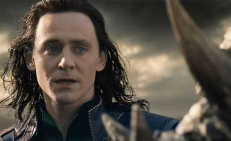 Tom Hiddleston is Loki in Thor: The Dark World
