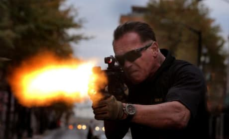 Sabotage Photos: Arnold Schwarzenegger Leads a Drug War