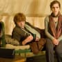 Harry Potter Characters Ron Weasley and Hermione Granger