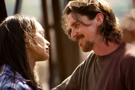Out of the Furnace Stars Christian Bale Zoe Saldana