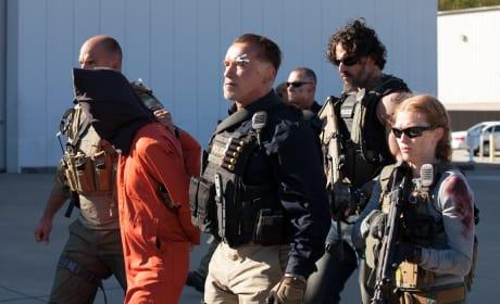 Sabotage Stars Arnold Schwarzenegger Joe Manganiello