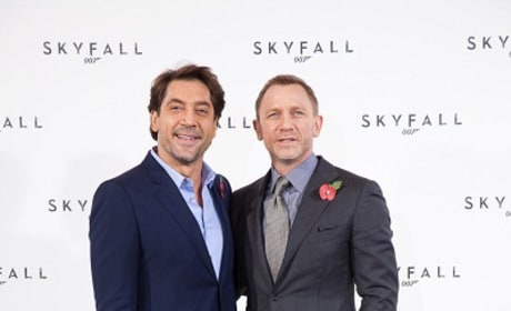 Javier Bardem and Daniel Craig Picture