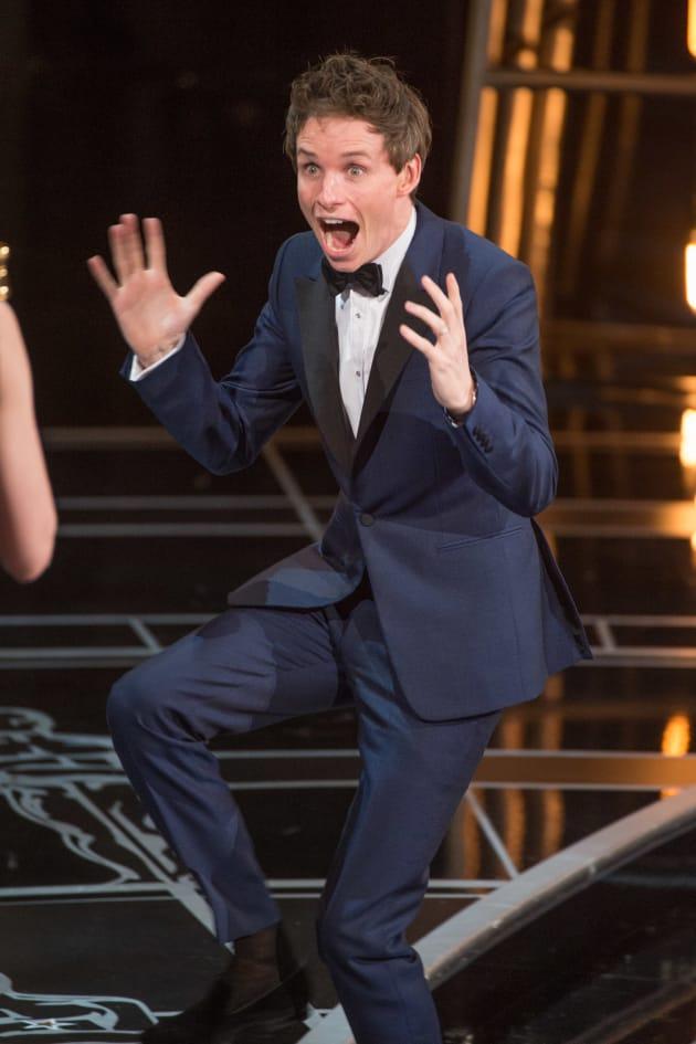 Eddie Redmayne Oscar Win