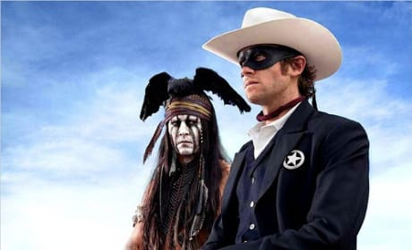 The Lone Ranger: First Look at Johnny Depp & Armie Hammer