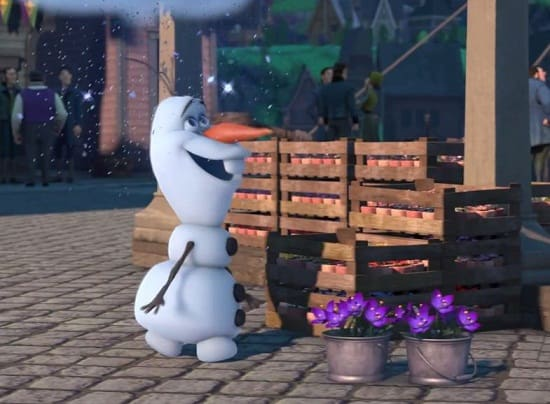 Frozen Fever Olaf Photo