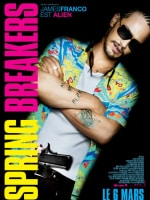 James Franco Spring Breakers International Poster
