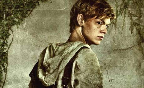 The Maze Runner Thomas Brodie-Sangster Character Poster