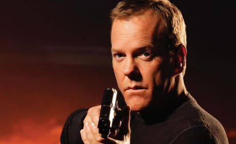 Kiefer Sutherland is Jack Bauer in 24